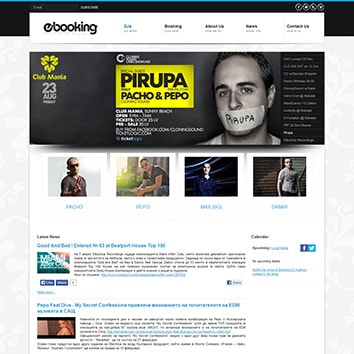 E-Booking Agency